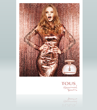 Sensual Touch by Tous preserves the same bottle shape as the...
