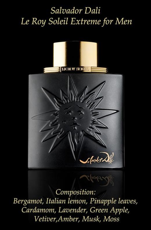 Salvador dali le roy soleil extreme new fragrance for Miroir des majestes