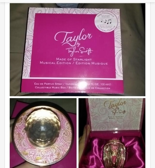 Taylor by Taylor Swift Made of Starlight Perfume
