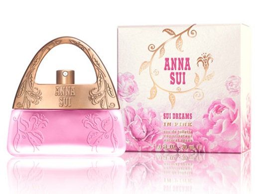 anna sui sui dreams in pink new perfume perfumediary. Black Bedroom Furniture Sets. Home Design Ideas